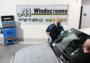 Car Windscreen Replacement in Workshop