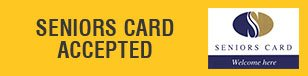 Seniors Card Accepted