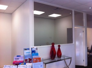 Window Tinting in Office