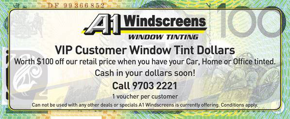 Window Tinting Offer