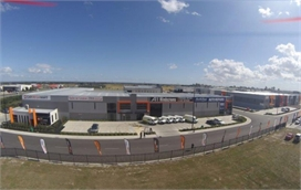 Bird eye view of Pakenham Workshop