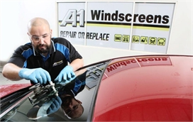 Car Windscreen Repair at workshop