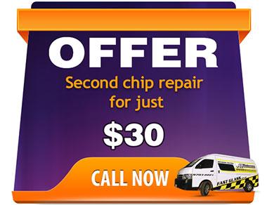Chip repair offer